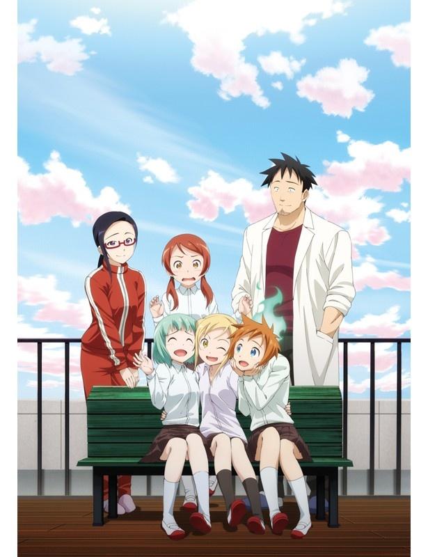 イベント優先券封入の「亜人ちゃんは語りたい」BD・DVD第1巻は3/22発売