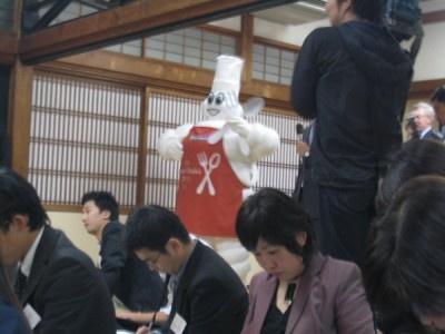 マスコットキャラクター・ミシュラン君も登場!