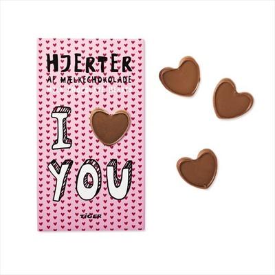 数が必要な友チョコ、義理チョコ用にぴったりなユニークなパッケージのチョコ