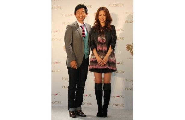 モデルの真山景子さんも思わず「うらやましい」とコメント