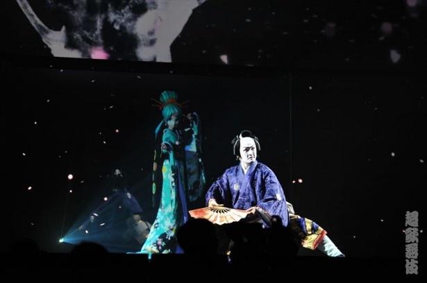 【写真を見る】昨年の「ニコニコ超会議2016」に引き続き、中村獅童と初音ミクの共演による「超歌舞伎」が完全新作で上演決定