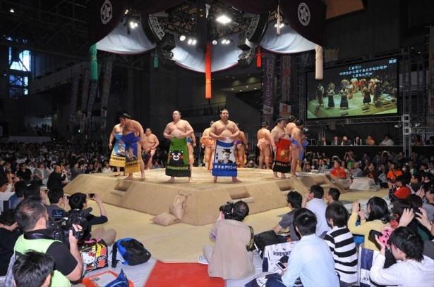 「ニコニコ超会議3」で開催し、話題となった「大相撲超会議場所」が今年復活