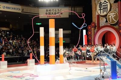 過去の全国大会に進出した名作ロボットの数々が登場し、精巧に作られたロボットを間近で見られる