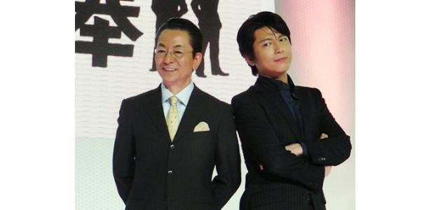 """「小学生時代から(水谷豊の)大ファン!」と喜ぶ""""新相棒""""の及川光博"""