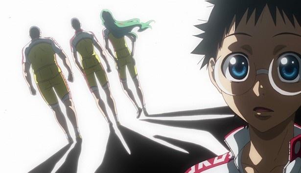 「弱虫ペダル NEW GENERATION」第3話の先行カット到着。強敵の葦木場に手嶋が挑む!