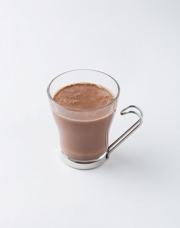 フレッシュネスバーガーの定番人気のチョコレートドリンク「ショコラ」(税抜350円)