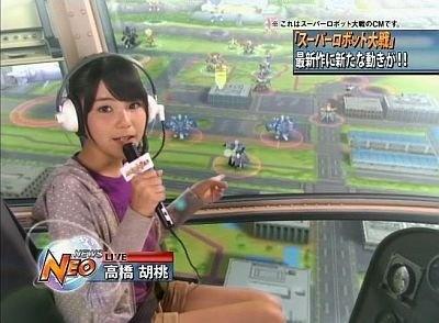 新人レポーター役高橋胡桃さんの初々しい表情もたまらない…【CM画像&撮影風景】