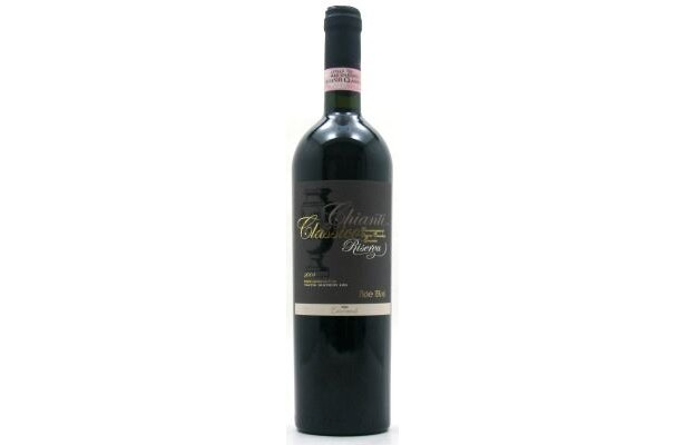 イタリア産のキャンティ クラシコ リゼルバ 赤(1380円)。サンジョベーゼが中心のブドウ品種を使い、樽で長時間熟成