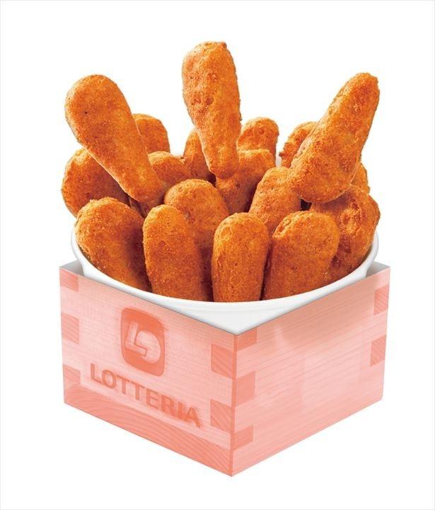 枡ボックスに入った「チキンからあげっと」が18ピースとボリュームたっぷりの「節分バケツチキンからあげっと」(600円)