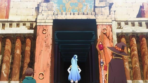 「この素晴らしい世界に祝福を!2」第3話先行カットが到着。あのアクアが駄女神っぷりを返上!?