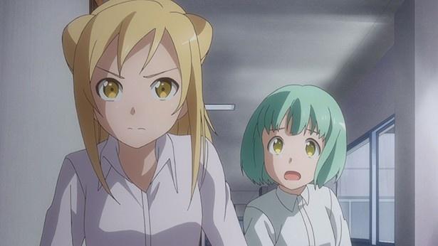 「亜人ちゃんは語りたい」第4話の先行カット到着。雪女の悩みと鉄男の決心