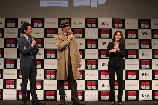 誰もが知るキャラクターを演じることへのプレッシャーを感じたと話す鈴木に、前田と三浦は「鈴木さんなら大丈夫だと思った」と打ち明ける