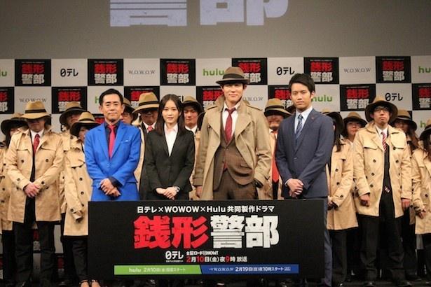 日本テレビ、WOWOW、Huluの共同製作ドラマ「銭形警部」は、2月10日(金)の「金曜ロードSHOW! 銭形警部」(日本テレビ系)からスタート