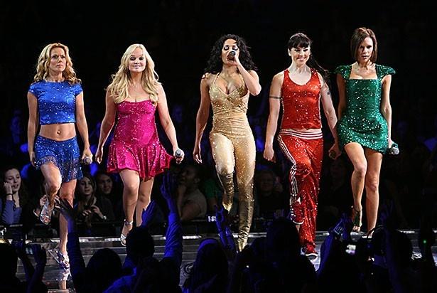 2008年、ニューヨーク公演を行ったスパイス・ガールズ