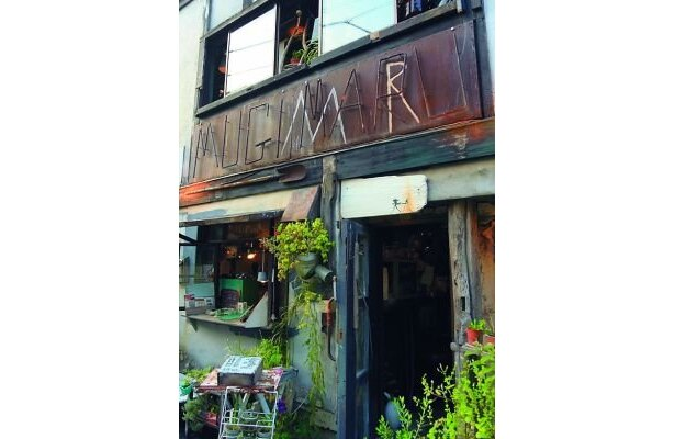 マンヂウカフェ mugimaru2は猫がいる街・神楽坂に