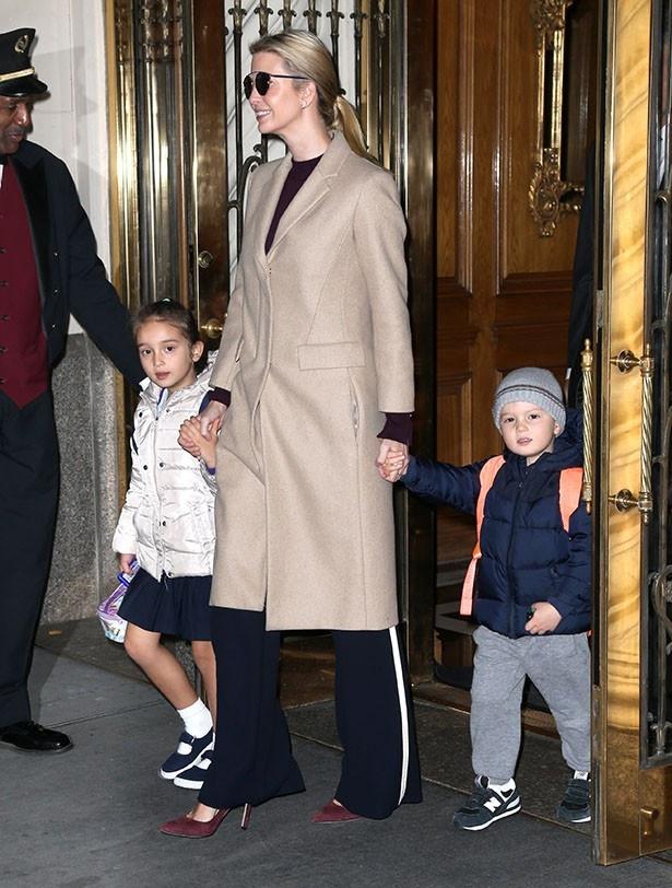 【写真を見る】新たなファッションアイコン誕生!?イヴァンカ・トランプと子どもたち