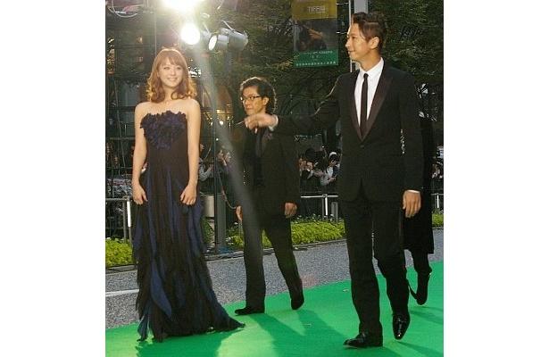 『天使の恋』の佐々木希と谷原章介というモデルっぷりがいいコンビ