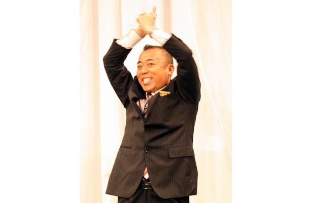 もちろんゴルゴ松本さんも頑張る!