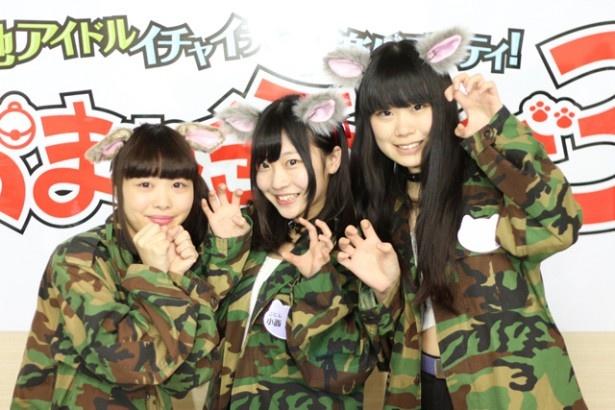インタビューリレー企画の第2弾は、大阪市浪速区の7人組アイドルユニット・AnimalBeastからえりパン、あんポン、えなルフが登場