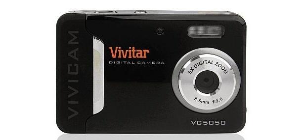色彩が豊かなVividmodeで遊べる「Vivicam5050」。デジタル8倍ズーム機能もあり、カラーモードやホワイトバランスのほか、マクロモードなどで楽しめる