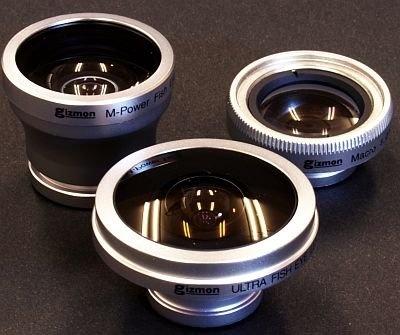 ギズモショップが販売するGIZMONのトイデジ用レンズ。フィッシュアイレンズなど定価3600円から