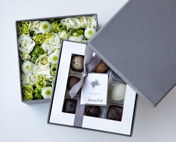 特別な人に贈りたい「Summerbird Organic バレンタイン限定フラワーズボックス」(1万260円)