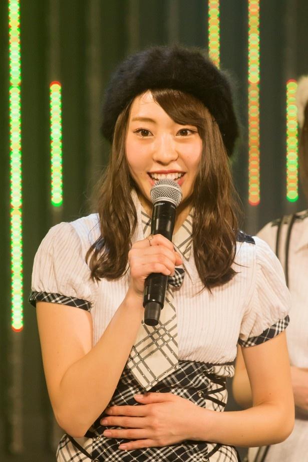 卒業を発表したNMB48・藤江れいな48