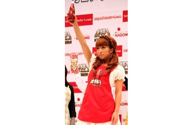 カゴメトマトケチャップ「主婦-1 グランプリ」開催宣言した辻ちゃん