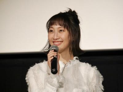 本シリーズ5年連続で主演を務める松井玲奈が登壇。お気に入りのシーンを語った