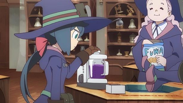 「リトルウィッチアカデミア」第5話先行カットが到着。魔力の源・魔導石を取り戻せ!