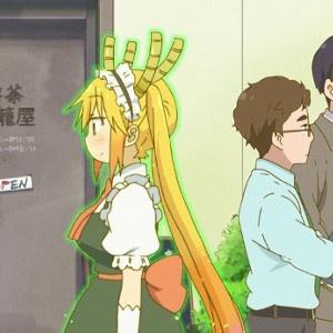 「小林さんちのメイドラゴン」第5話場面カットが公開。トールが社会勉強!?
