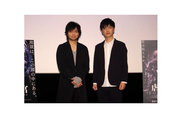 『虐殺器官』で声優を務めた中村悠一と櫻井孝宏