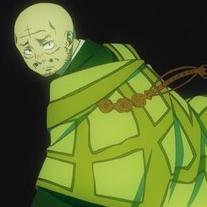 「青の祓魔師 京都不浄王篇」第5話場面カットが到着。独房に入った燐と、達磨からの手紙