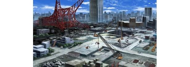 「東京マグニチュード8.0」から。見慣れた東京の風景に、リアルさを感じる