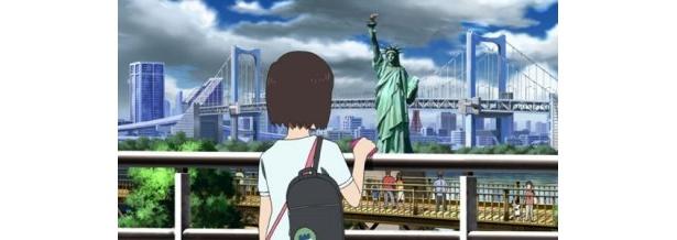 ニューヨーク…ではなく、お台場の自由の女神