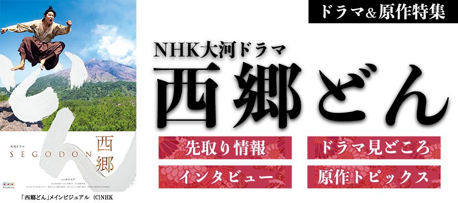 2018年NHK大河ドラマ「西郷どん」