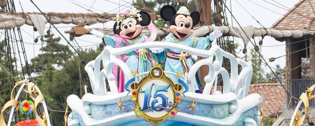 ディズニーの七夕まつり