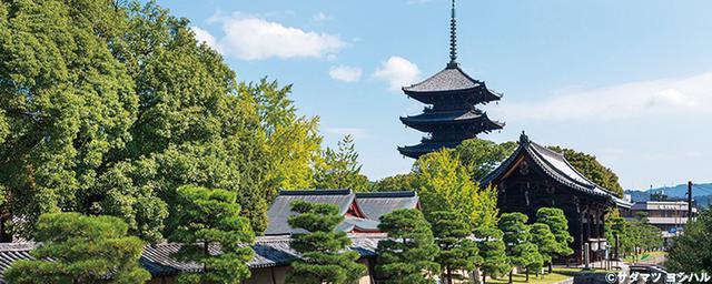 京都駅周辺の有名寺社