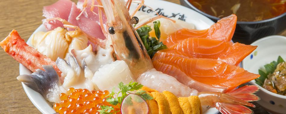 海鮮丼 北海道 人気