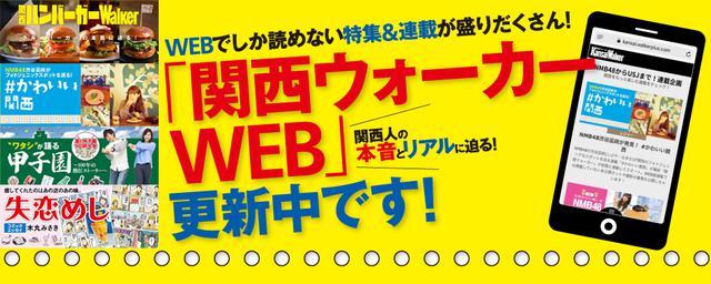 限定特集も!関西ウォーカーWEBオープン
