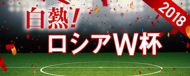 4年に1度のサッカーの祭典を楽しもう!